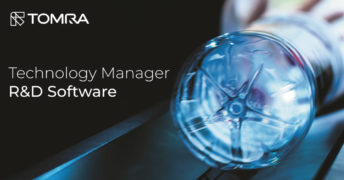 Are you Tomra's new Technology Manager R&D Software?