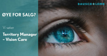 Bausch + Lomb søker Territory Manager – Vision Care