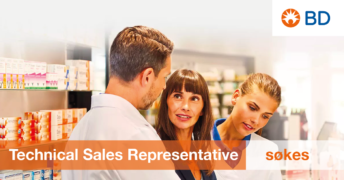 Technical Sales Representative til BD Biosciences Norge