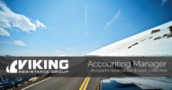 Accounting Manager – Accounts receivables & cash collection